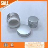 Frasco de alumínio cosmético personalizado com tampão