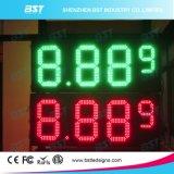 Напольный изменитель газовой цены высокой яркости большой СИД (красный/зеленый цвет/желтый цвет/белизна)