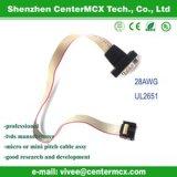 Cable plano/cable plano del gemelo/alambre flexible del cable del paralelo