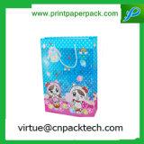 Personifizierter Farben-Geschenk-Beutel mit kundenspezifischem Firmenzeichen-Drucken