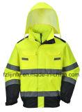 Rivestimento di sicurezza di visibilità del Workwear riflettente di inverno alto