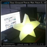 PE Rotational Molding Plastic LED Star Table Lamp