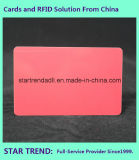 standaardCr 80 van de van de compensatieDruk en Serigrafie Plastic Kaart