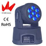 LED-Miniwäsche-bewegliches Hauptstadium DJ-Disco-Effekt-Licht für Verkauf