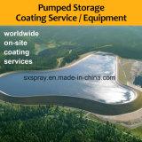 Оборудования брызга Hvof покрова сплавом Wc-Co карбида вольфрама хранение трудного Нагнетать-Гидро предотвращает поверхностное покрытие корозии размывания