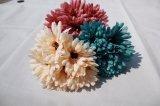 Flores artificiales de seda del crisantemo falso para los accesorios caseros de la decoración