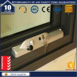 Finestra appesa superiore di alluminio lustrata doppio con il profilo termicamente rotto