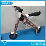 Vélo électrique de scooter de banlieusard du pliage des hommes roues de 10 pouces