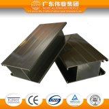 Het Profiel van de Uitdrijving van het aluminium voor het Ontwerp van Vensters en van Deuren