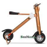 Vespa eléctrica de la bicicleta plegable elegante transformable