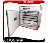 Prix automatique d'incubateur d'oeufs de volaille de capacité de la vente en gros 528