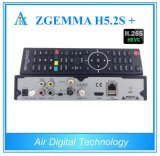 Air Digital New Box Zgemma H5.2s Plus Satellite / Cable Receiver Sistema operacional Linux Enigma2 DVB-S2 + DVB-S2 / S2X / T2 / C Triple Tuners