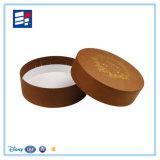 Изготовленный на заказ коробка подарка типа бумажного круга с подгонянным печатание логоса