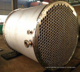 Cambista de calor frente e verso do aço inoxidável