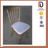 Empilando la silla de aluminio de Chiavari Tiffany de la boda del restaurante del hotel de la resina del metal (BR-C310)