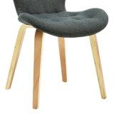 Upholstery Tufted Bentwood da tela que janta a cadeira W16208