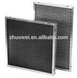 Filtro de ar Washable do engranzamento do metal do ar de Prefilter para o condicionador de ar