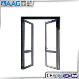 Porte battante en métal / porte française en aluminium / porte à charnière en aluminium