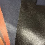 кожа Microfiber зерна Lychee Faux 1.8mm для ботинок делая Hx-FM1701