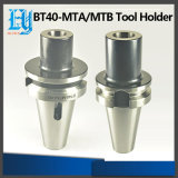 Sostenedor de herramienta de la serie Mta/MTB del uso Bt40 de la máquina del CNC