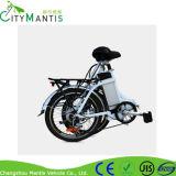 E-Bici plegable de la aleación de aluminio de 20 pulgadas con la batería ocultada Cmsdm-20W