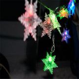 De Ce&RoHS Goedgekeurde Lichte Ketting van BO met Sneeuwvlok voor Decoratie