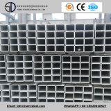 Tubo de acero galvanizado sumergido caliente cuadrado (SS400, Q235, Q345)
