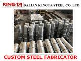 Продукт металла подгонянный сталью подвергая механической обработке