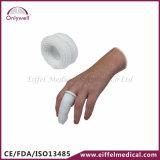 Atadura ao ar livre do algodão do dedo dos primeiros socorros de emergência médica