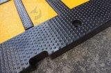 交通安全の反射速度のブレーカのゴム製減速バンプの速度のこぶ