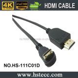 Mini HDMI cabo 90 do grau novo para a estação 4 do jogo