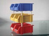 Хранение промышленного пакгауза Stackable разделяет ящик пластмассы коробки