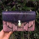 Bolso cruzado Emg5096 de la bolsa para transportar cadáveres de 2017 de la manera de la serpiente del modelo del cuero de hombro señoras de bolso