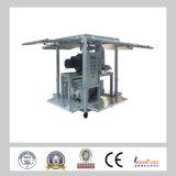Zja en máquina de dos etapas del purificador de petróleo del vacío del petróleo del transformador de la eficacia alta de la industria de la subestación
