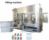 آليّة [500مل] [1500مل] زجاجة ماء صارّة يغسل يملأ يغطّي يجعل آلة خطّ مع [رفرس وسموسس] [درينك وتر ترتمنت سستم]