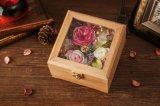 خشبيّة يحفظ زهرة لأنّ عرس زخرفة هبة
