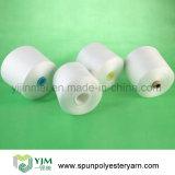 Alta calidad en la porción de las existencias de los hilados de polyester del cono del tubo del tinte