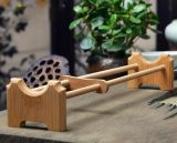 Estantes de bambú de la taza de té, estante de bambú de la taza de té, sostenedor de la taza de té