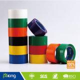 La vente chaude personnalisent la bande adhésive d'emballage de la couleur BOPP