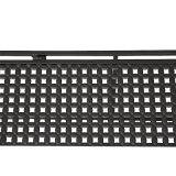 Metallmikrowellenherd-Regal-Küche-Kostenzähler-Schrank-Regal-Zahnstange