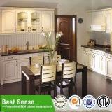 Gabinete de cozinha de canto acrílico da cozinha acústica do teto