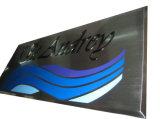 Im Freien Aluminiumwand-Plaketten-Tür-Plaketten-Metallplakette