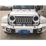 """Faro di pollice 75W Luminex LED di Lantsun J251 7 """" per il Wrangler Jk 2007+ della jeep"""