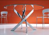 熱い販売する円形のダイニングテーブル(NK-DT274-1)の安く最新のデザインを