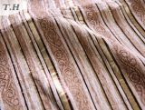 Sofá Fabic de Uphostery do jacquard do Chenille da tira (FTH32073C)