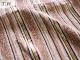 Sofá Fabic (FTH32073C) de Uphostery del telar jacquar del Chenille de la tira