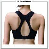 Kundenspezifisches Frauen-Polyester/Spandex-reizvoller Sport-Yoga-Büstenhalter