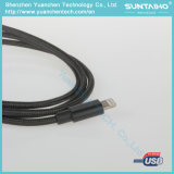 Cable de carga y datos del USB que transfieren la sinc.