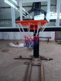 Регулируемая высота в земной стойке обруча баскетбола Поляк баскетбола