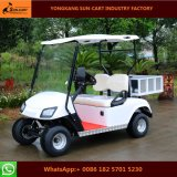 Carro de golfe elétrico do transporte de 2 assentos com a caixa traseira da carga